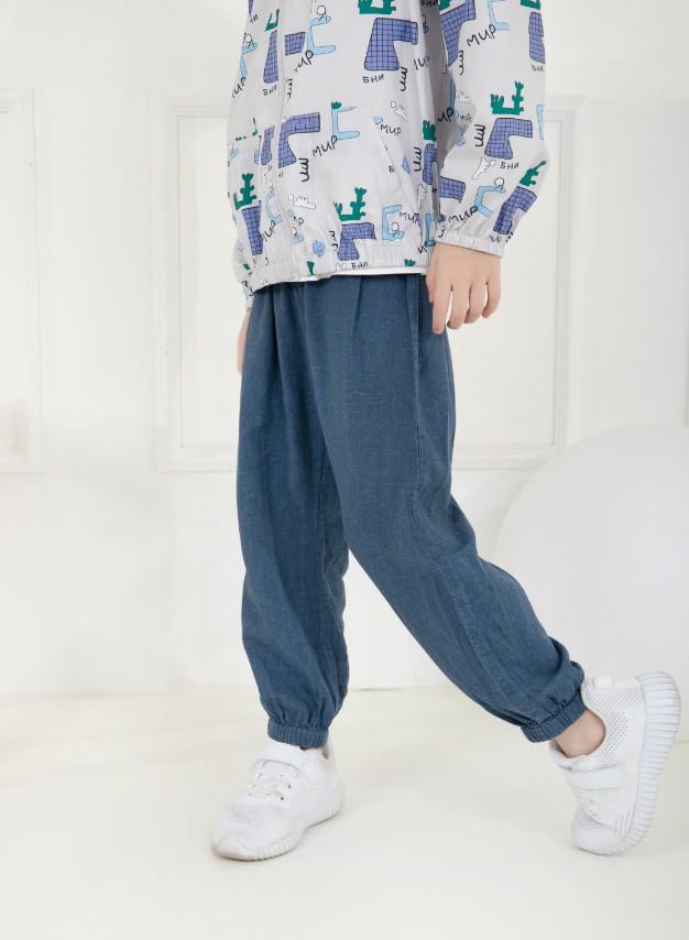 抗菌麻棉防蚊裤