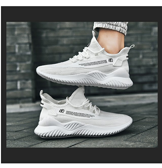 新款!男鞋2020新款春季韩版潮流百搭男士运动休闲透气防臭