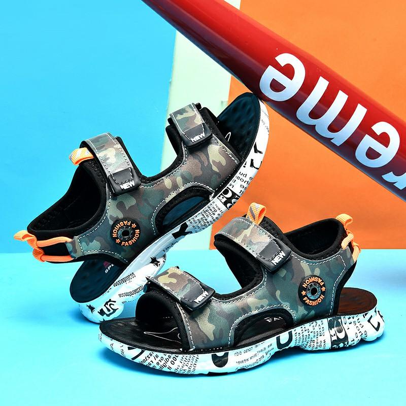 新款!男鞋凉鞋2020新款夏季韩版中大童小孩软底儿童儿童童鞋