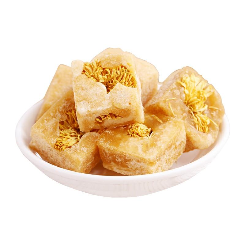 冰糖蜂蜜菊花茶